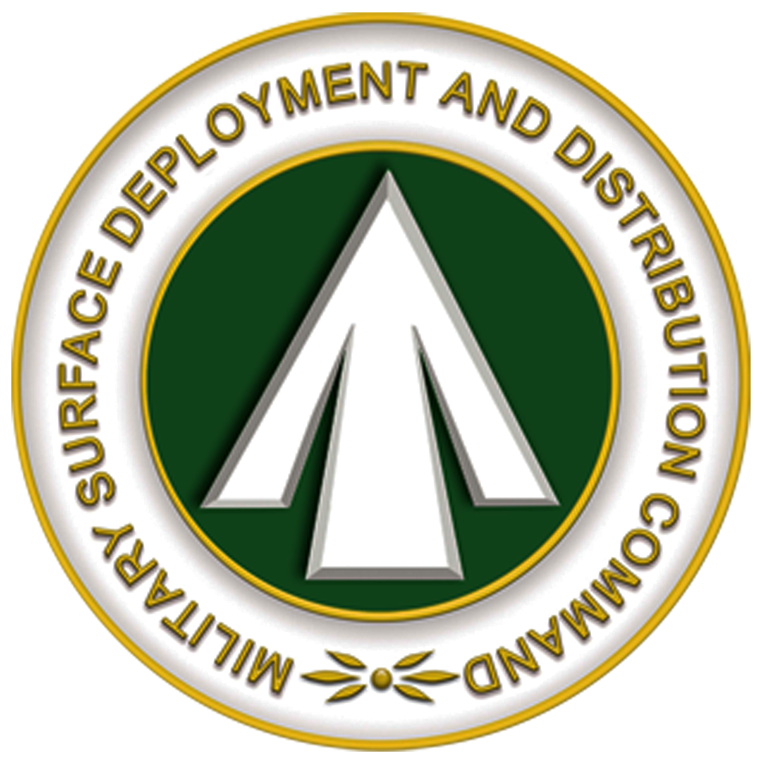 SDDC Military Superface Deployment and Distribution Command Logo